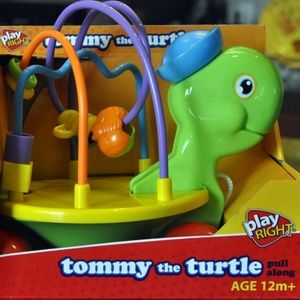Bead Maze Tommy the Turtle Pull Developmental  toy